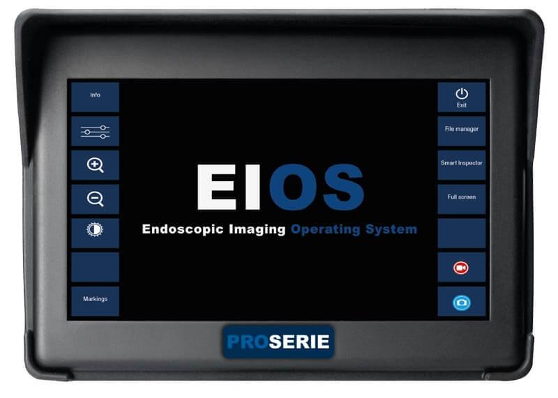 """iRis X PRO videoskop sistemi son derece kompakt boyutlarda; minimum ağırlık ve optimum kullanım sağlamaktadır.  Yüksek çözünürlüklü görüntü sensörü sayesinde yakalanan mükemmel görüntü ile hızlı ve doğru inceleme yapmanızı sağlar.  7 """"yüksek çözünürlüklü TFT dokunmatik ekrana sahip entegre videoskop sistemidir. Tek elle kullanım için tasarlanmış ve dengeli kullanıma uygundur.  iRis XPRO videoskop sistemi 4.0 mm, veya 6.0 mm çapları ve 1.5 m ila 7.5 m uzunlukları da 4 yöne yönlendirmeye sahip cihazlar kullanıcının talebine göre üretilebilir."""